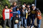 Sister Dora and youth group of Nueva Vida Bernal Argentina Church 2008