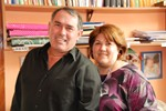 Assistant Pastor Carlos Centeno and Wife of Nueva Vida Bernal Argentina Church 2008